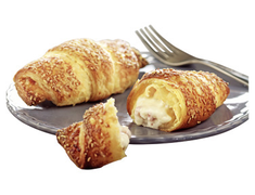 4 croissants jambon fromage � cuire