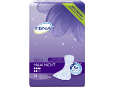12 protections nuit - Tena Lady Maxi Night