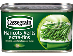 Haricots verts extra-fins - 220 g