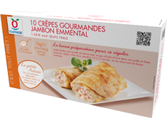 10 cr�pes gourmandes jambon emmental