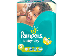 Pampers Baby Dry g�ant T5, 11 � 25 kg - 41 couches