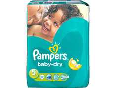 Pampers Baby Dry g�ant T4, 7 � 18 kg - 42 couches