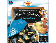 Moules cuisin�es � la marini�re - 600 g