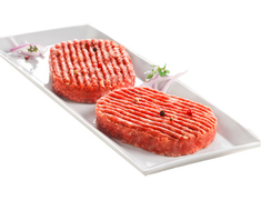 10 steaks hach�s 15% M.G.