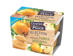 S�lection pommes poires Williams - 4 x 100 g