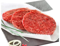 10 steaks hach�s 5% M.G.