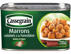 Marrons cuisin�s � la foresti�re - 420 g