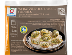 24 palourdes roses farcies