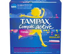 Tampons Tampax Freshness Regulier - les 20