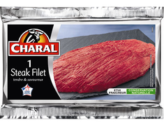 1 steak filet - 110 g environ