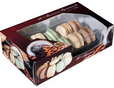 Assortiment de 10 macarons gourmands - 140 g