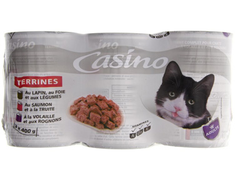 Terrines pour chat - 3 x 400 g