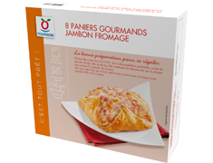Paniers gourmands jambon fromage - les 8 x 140 g
