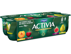 Activia Fruits du Verger - 8 x 125 g