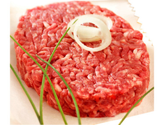 6 steaks hach�s charolais fa�on bouch�re 15% M.G. - 720 g
