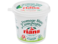 Fromage blanc de campagne Rians - 500g