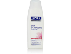 Lait de toilette douceur Nivea - 200 ml