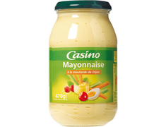 Mayonnaise à la moutarde de Dijon Casino - 470 g