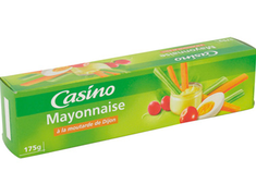 Mayonnaise à la moutarde de Dijon Casino - 175 g
