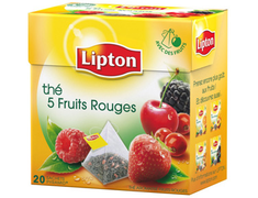 Thé 5 fruits rouges Lipton - 20 sachets