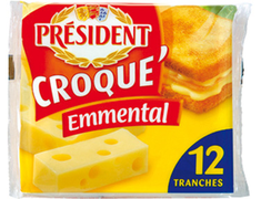 Croque Emmental - 10 tranches 200 g