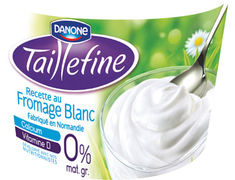 Yaourt Taillefine au fromage blanc nature Danone - 850g