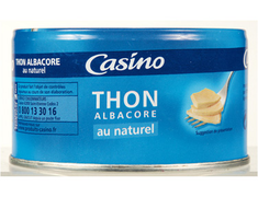 Thon Albacore au naturel Casino - 93 g