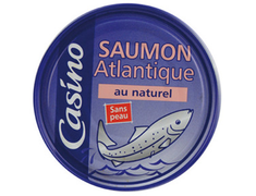 Saumon au naturel Casino - 112 g