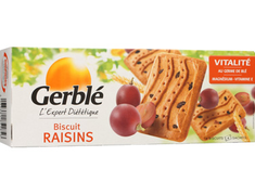 16 biscuits raisins Gerblé - 270 g