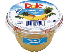 Coupelle de fruits ananas - 198 g
