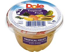 Coupelle de fruits ananas et papayes - 198 g