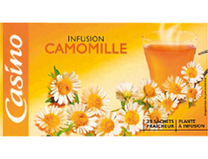 Infusion camomille Casino - 25sachets