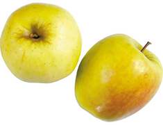 Pommes Golden Delicious BIO - 4 fruits