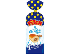 8 brioches Pitch goût chocolat au lait - 310 g