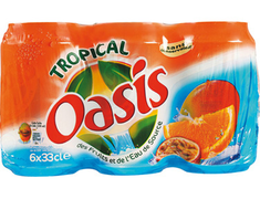 Oasis tropical - 6 x 33 cl