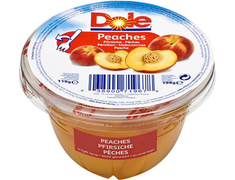 Coupelle de fruits pêche Dole - 198 g