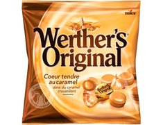 Werther's coeur tendre caramel - 160 g