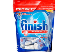 Finish PowerBall Tout en 1 - 65 tablettes