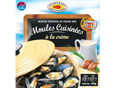 Moules cuisin�es � la cr�me - 600 g