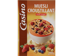 Muesli croustillant fruits rouges - 500 g