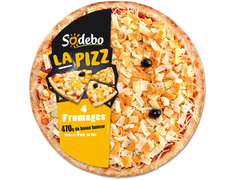 Pizza 4 fromages Sodebo - 470 g