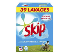 Lessive Skip Active Clean - 39 doses
