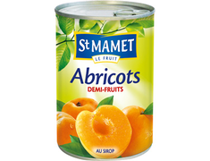 Abricots demi-fruits St Mamet - 235 g