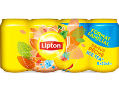 Ice tea pêche Lipton - 8 x 33 cl