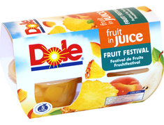 Salade de fruits Dole - 4 x 113 g