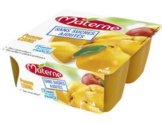 Desserts de fruits Materne pomme coing - 4 x 100 g