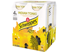Schweppes Indian Tonic - 4 x 25 cl