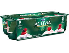 Activia fruits mix� - 8 x 125 g