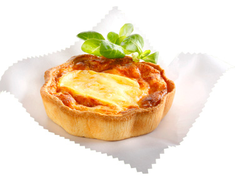 Tartes gourmandes aux 3 fromages - 2 x 170 g