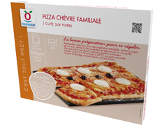 Pizza chèvre rectangulaire - 600 g